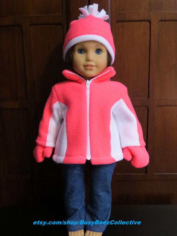fleece ski jacket set for 18 inch dolls da40e631c