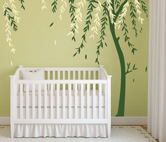 Baby Boy Nursery Ideas Stick on Wall Art Tree Decals for Walls Wall Sticker  Decals Personalized