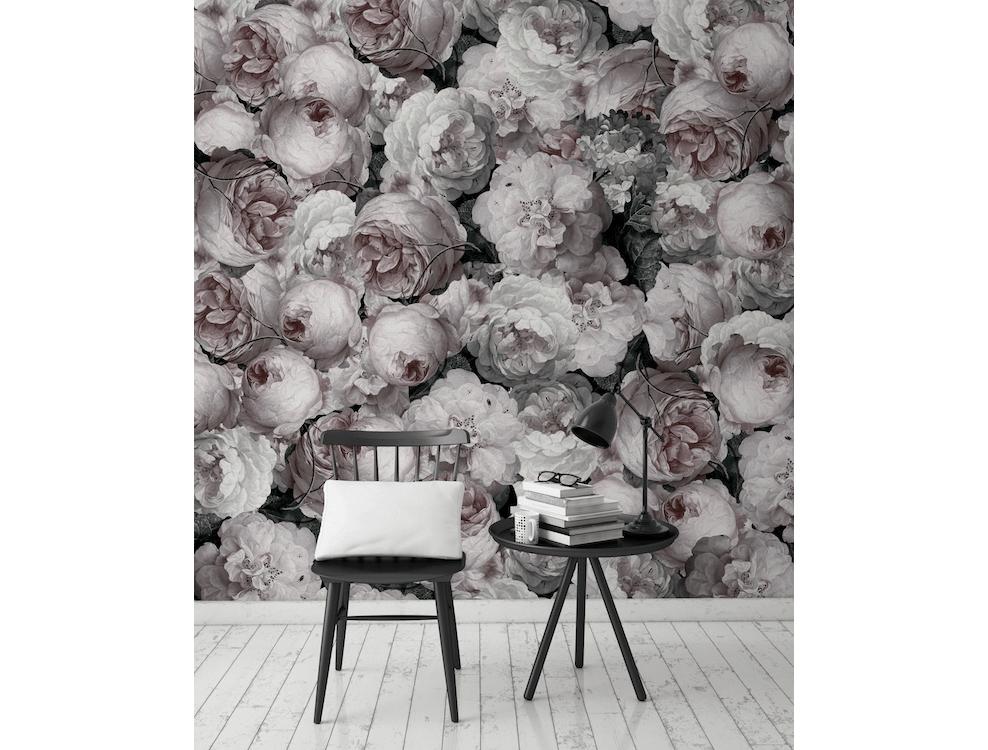 d cor mural bloemen collection volume 4 au fil des. Black Bedroom Furniture Sets. Home Design Ideas