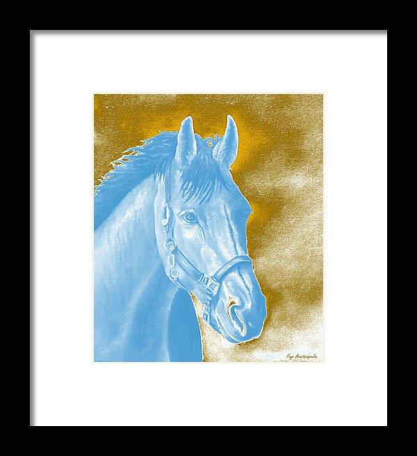 Golden Essence Horse Framed Print By Faye Anastasopoulou Framed Prints Framed Art Prints Sale Artwork
