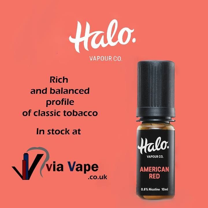 🔥 American Red by Halo Vapour Co  - A classic tobacco