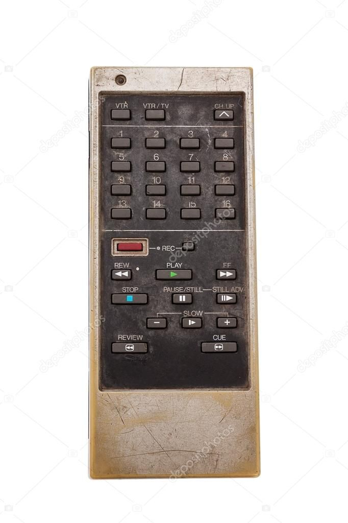 Old remote control for television - Stock Photo , #sponsored, #control, #remote, #television, #Photo #AD