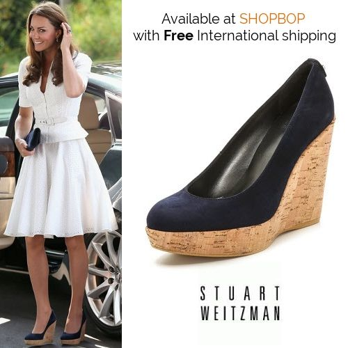 d909ca443e6 Shopbop has the Stuart Weitzman  Corkswoon  wedges in stock with FREE…