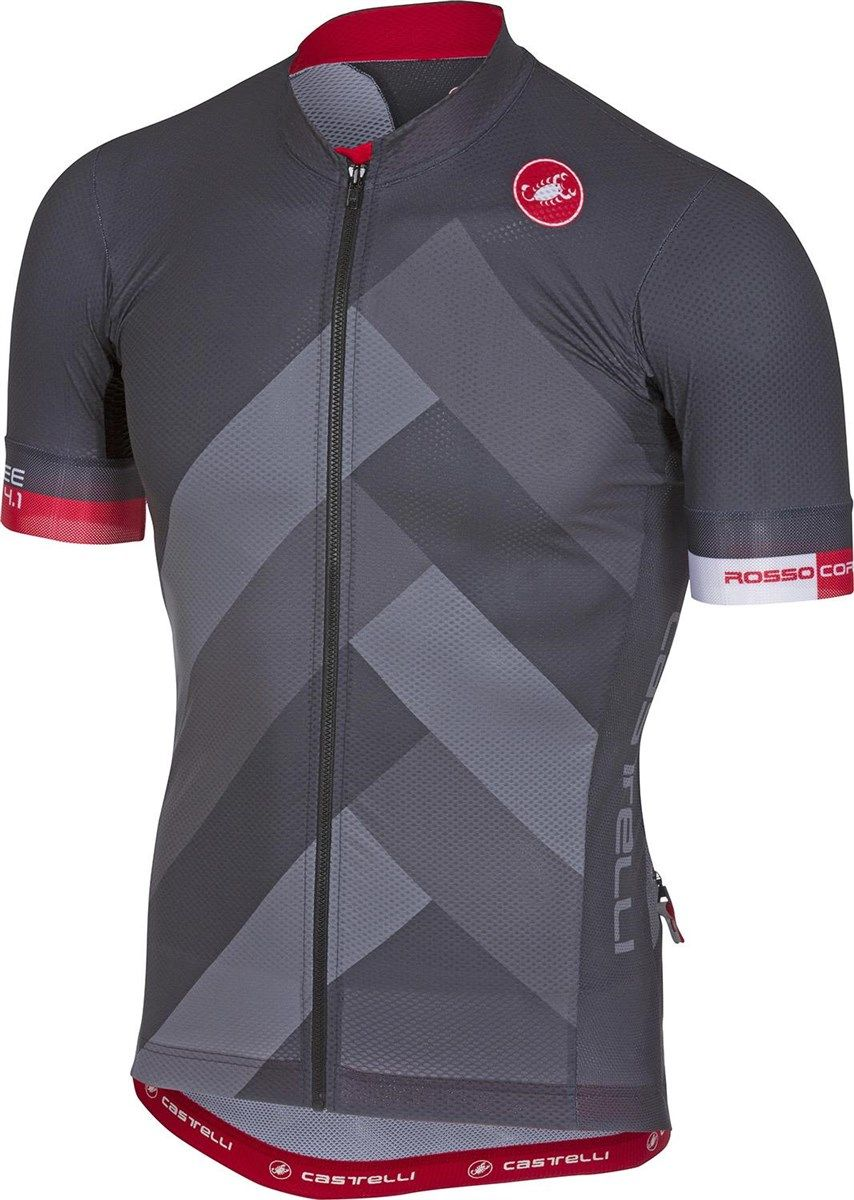 Castelli Free AR 4.1 FZ Short Sleeve Jersey  c8e9d1625