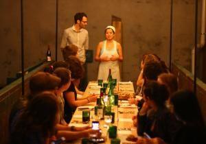 Comida con cobras de comida #SalvageSupperclub http://ow.ly/AHh5B