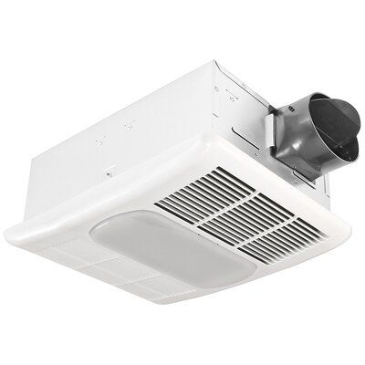 Delta Breez Exhaust 80 Cfm Bathroom Fan With Light And Heater Bathroom Exhaust Fan Bathroom Heater