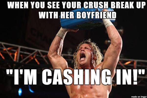 Crush boyfriend has your when a Found out