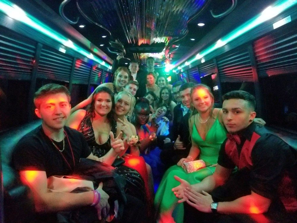 Boston prom party bus rental party bus party bus rental