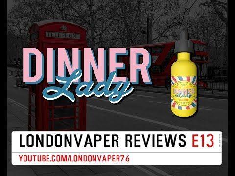 Vape Dinner Lady - Lemon Tart E-Liquid Review - YouTube