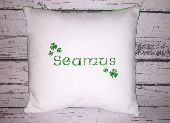 Personalized irish baby pillow celtic by sewoutoftheordinary irish personalized irish baby pillow celtic by sewoutoftheordinary negle Choice Image