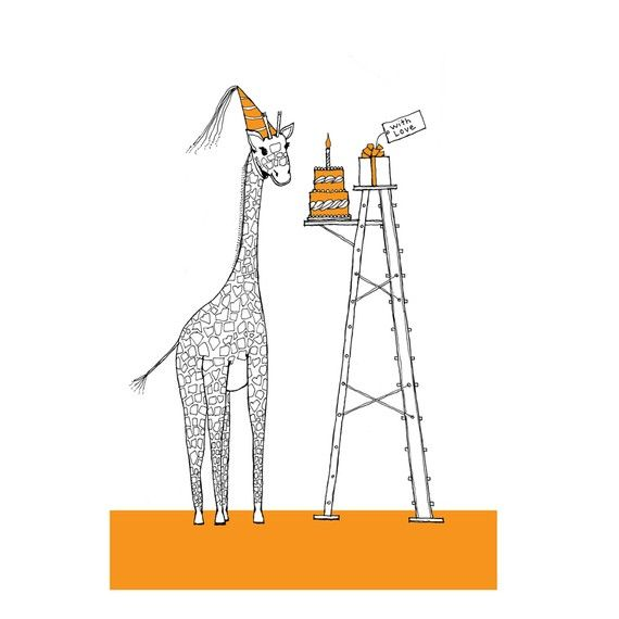 giraffe birthday Giraffe   birthday card | gift ideas | Giraffe, Giraffe birthday  giraffe birthday