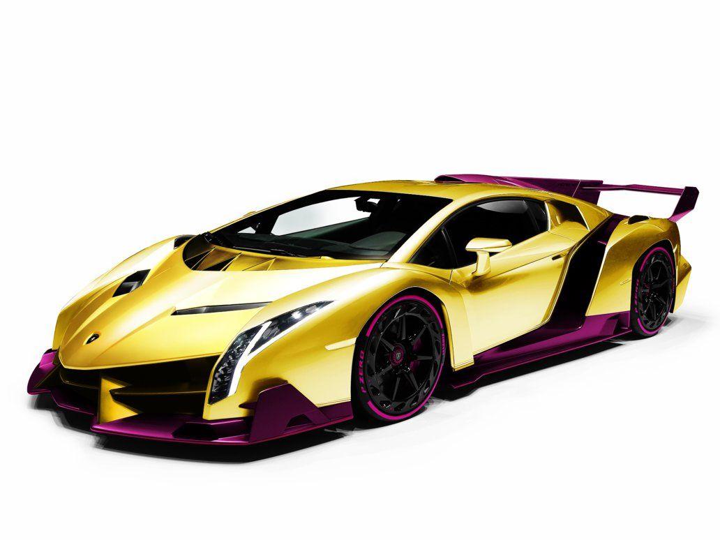 Gold,Plated Lamborghini Veneno