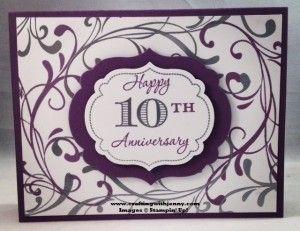 Happy 10th Anniversary Happy 10th Anniversary Happy Anniversary Anniversary Cards