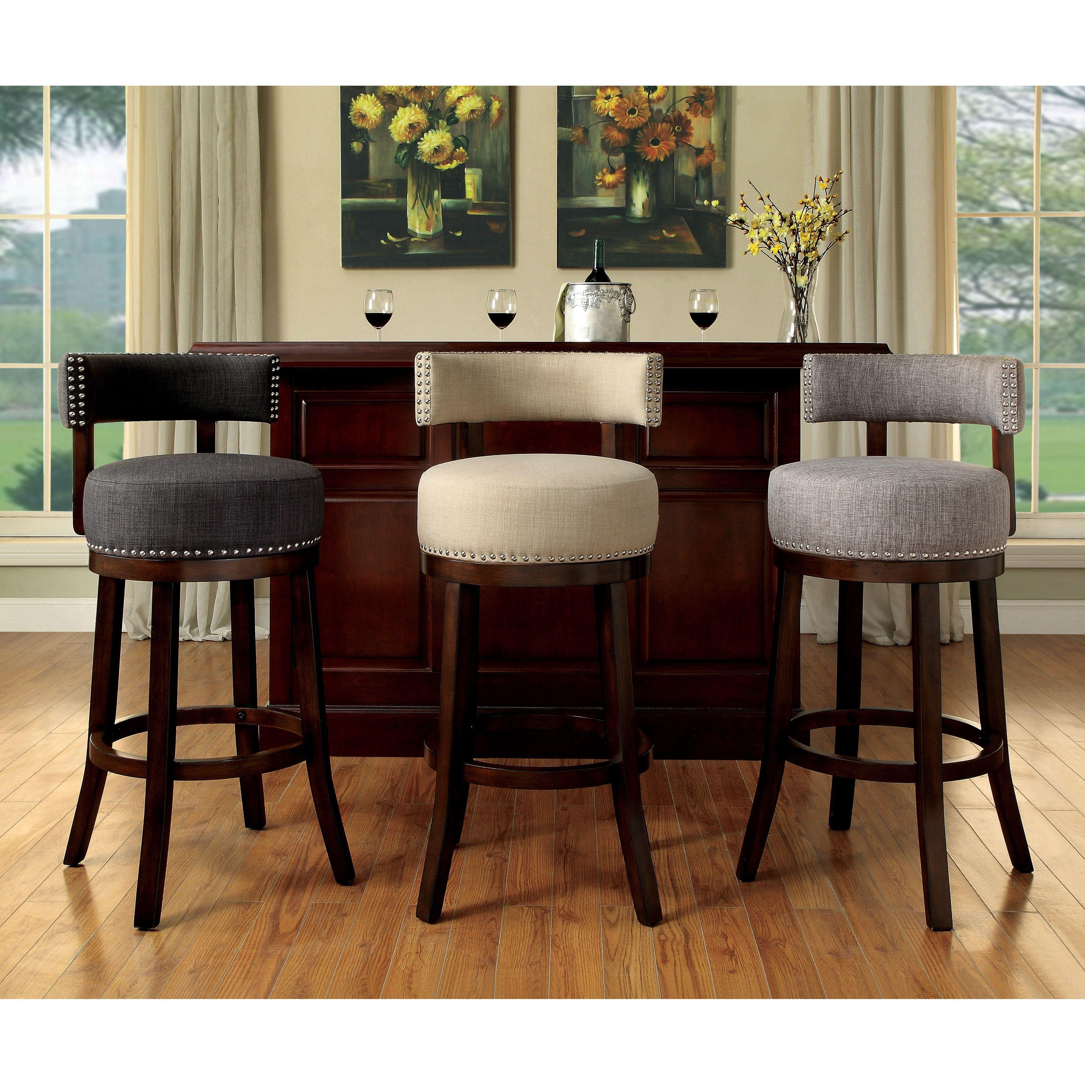 Prime Furniture Of America Fendeson Contemporary Fabric Nailhead Creativecarmelina Interior Chair Design Creativecarmelinacom