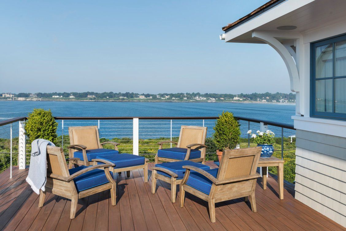 Salty Breeze, Warm Sun, And Casual Comfort Make This Rooftop Terrace An At
