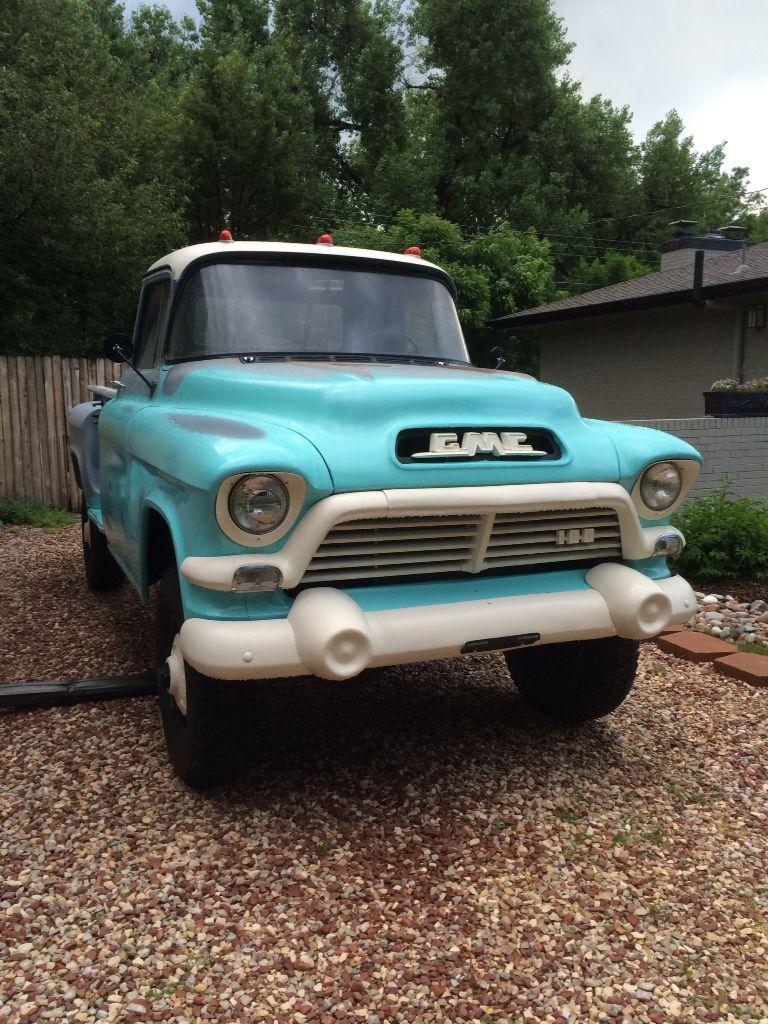 1957 Gmc Napco 4x4 100 4x4s Trucks Chevy Panel Truck 57 Classic Pickup 3100