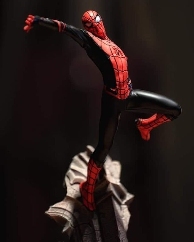 Nerd Reverse No Instagram Spider Man Far From Home Art Scale 1 10 By Ironstudios Photos By Mike Chiu Nerdreverse Ironstudi In 2020 Home Art Photo Spiderman