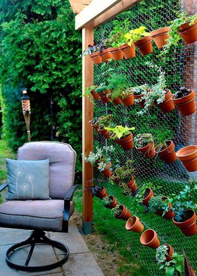Ideias simples e criativas para montar um pequeno jardim for Jardins pequenos e simples