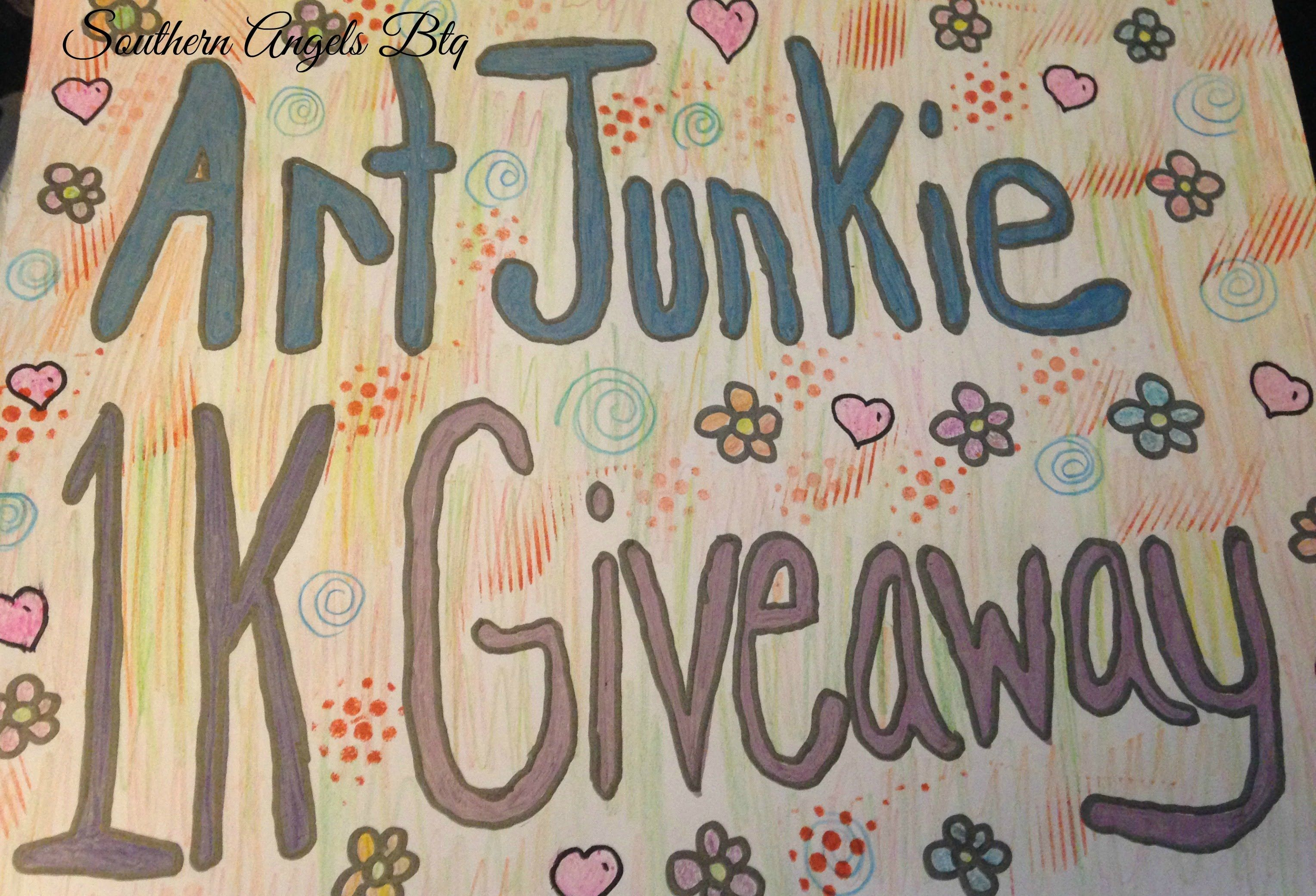 VR For Art Junkie 1K Giveaway From: Southern Angels Btq