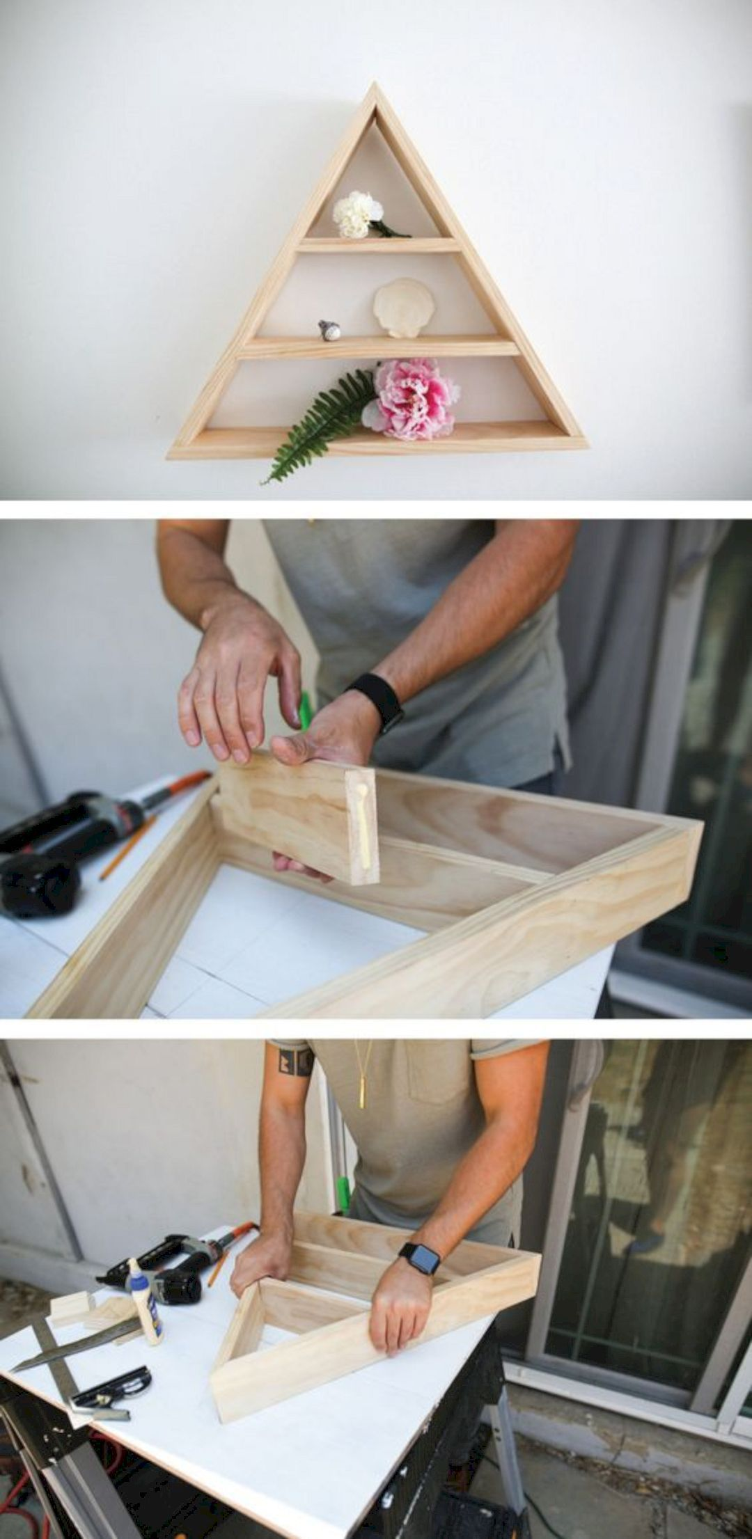 16 Creative DIY Home Decorating Ideas https://www ... on hide television design ideas, bedroom designs, western bedroom ideas, bedroom wall art, shelving ideas, bedroom shelf for candles, storage for small bedrooms ideas, beautiful bedroom ideas,