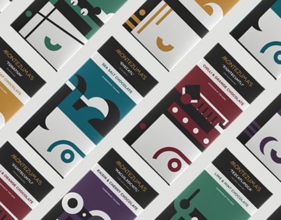 """""""Montezuma's Chocolate"""" http://be.net/gallery/37507905/Montezumas-Chocolate #packaging"""