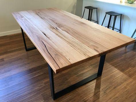 Recycled Reclaimed Hardwood Messmate Dining Table Muebles Estilo Industrial Muebles Decoracion Del Hogar