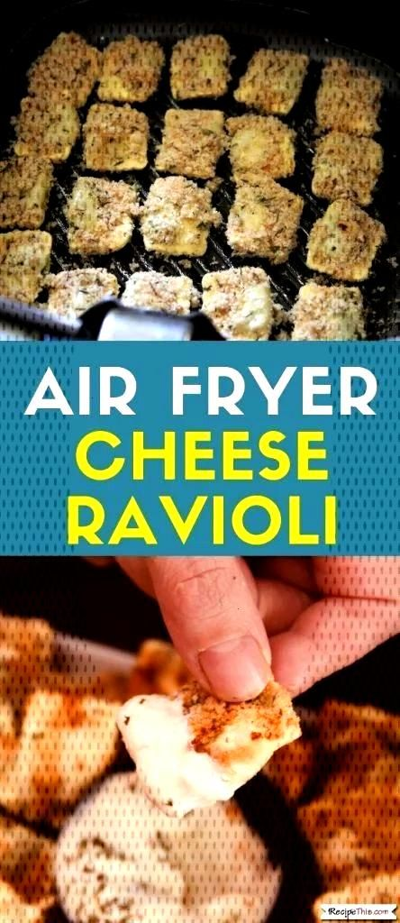 Air Fryer Cheese Ravioli Air Fryer Cheese Ravioli. A delicious air fried ravioli recipe teaching yo