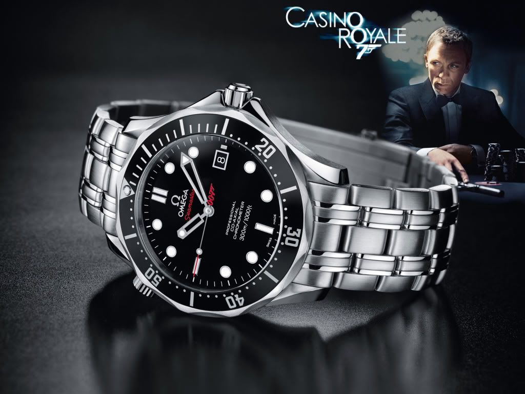 Replica Omega Seamaster James Bond 007 Quantum of Solace ...