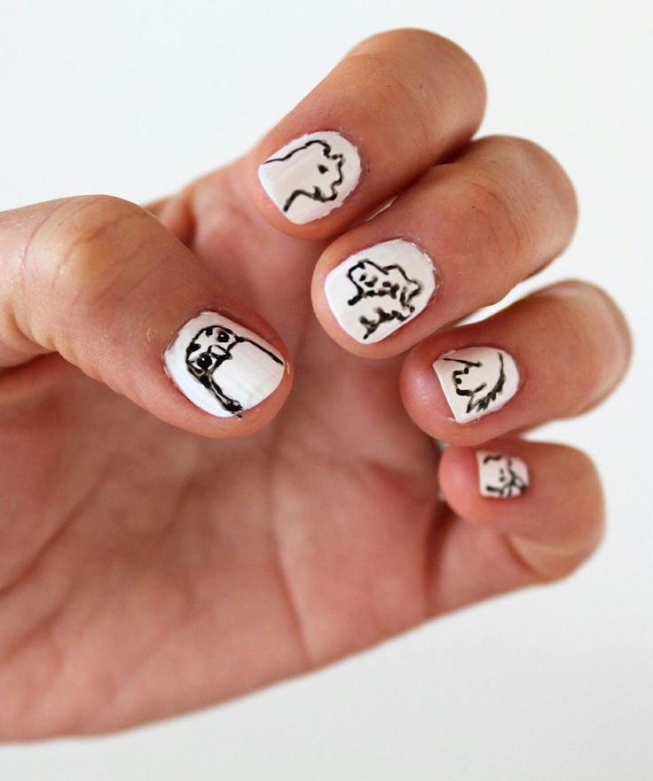 Winnie the Pooh Day: Nail Art Inspired b - http://yournailart.com ...