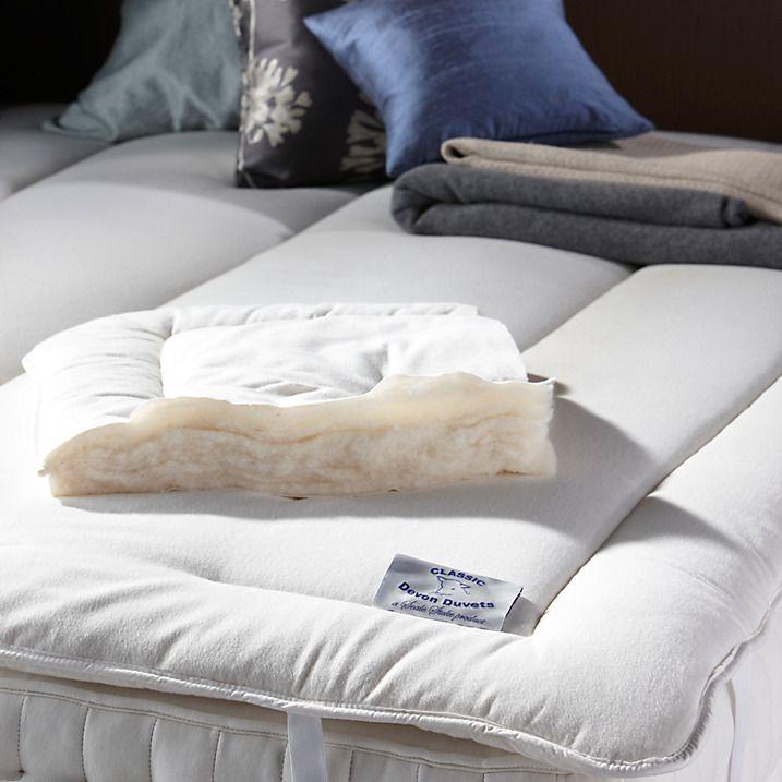 Buy Devon Duvets British Wool Single Mattress Topper Bed Topper Online At Johnlewis Com Wool Mattress Mattress Topper Egyptian Cotton Duvet Cover