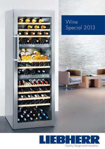 Consult LIEBHERR's entire Wine Special 2013 catalogue on ArchiExpo. Page: 1/21