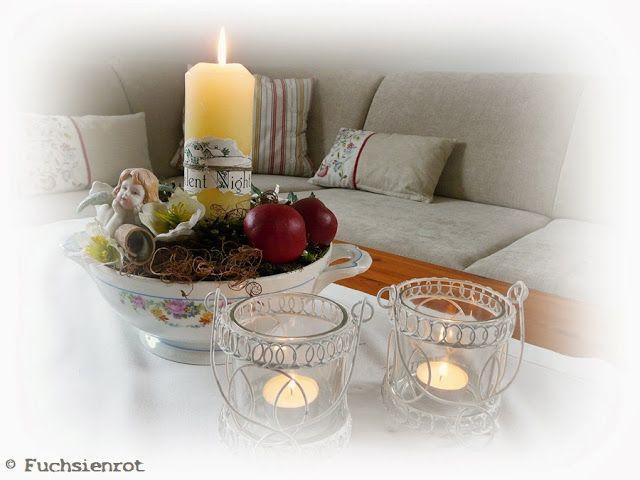 Blog Weihnachtlich Dekorierte Suppenterrine Teil 3 Weihnachtlich Dekorieren Weihnachten Dekorieren