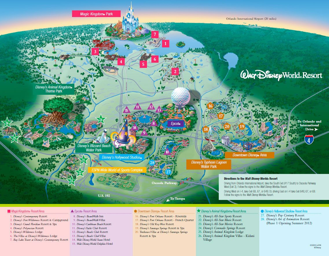 disney world resort map | ... for a roadmap click here and ...