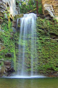 Nature's Hidden Treasure - 26 Apr 2003. Eagle Cliff Falls outside of Montour Falls, NY.