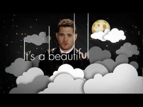 """▶ Michael Bublé """"It's A Beautiful Day"""" [Official Lyric Video] - YouTube"""
