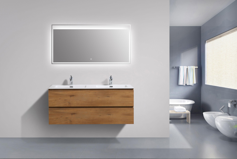 Meuble Salle De Bain Alice 1200 Couleur Chene Miroir En Option Le Monde De La Salle De Bain En 2020 Meuble Salle De Bain Meuble Rangement Salle De Bain Salle De Bain