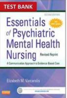 Essentials Of Psychiatric Mental Health Nursing 2nd Edition Test