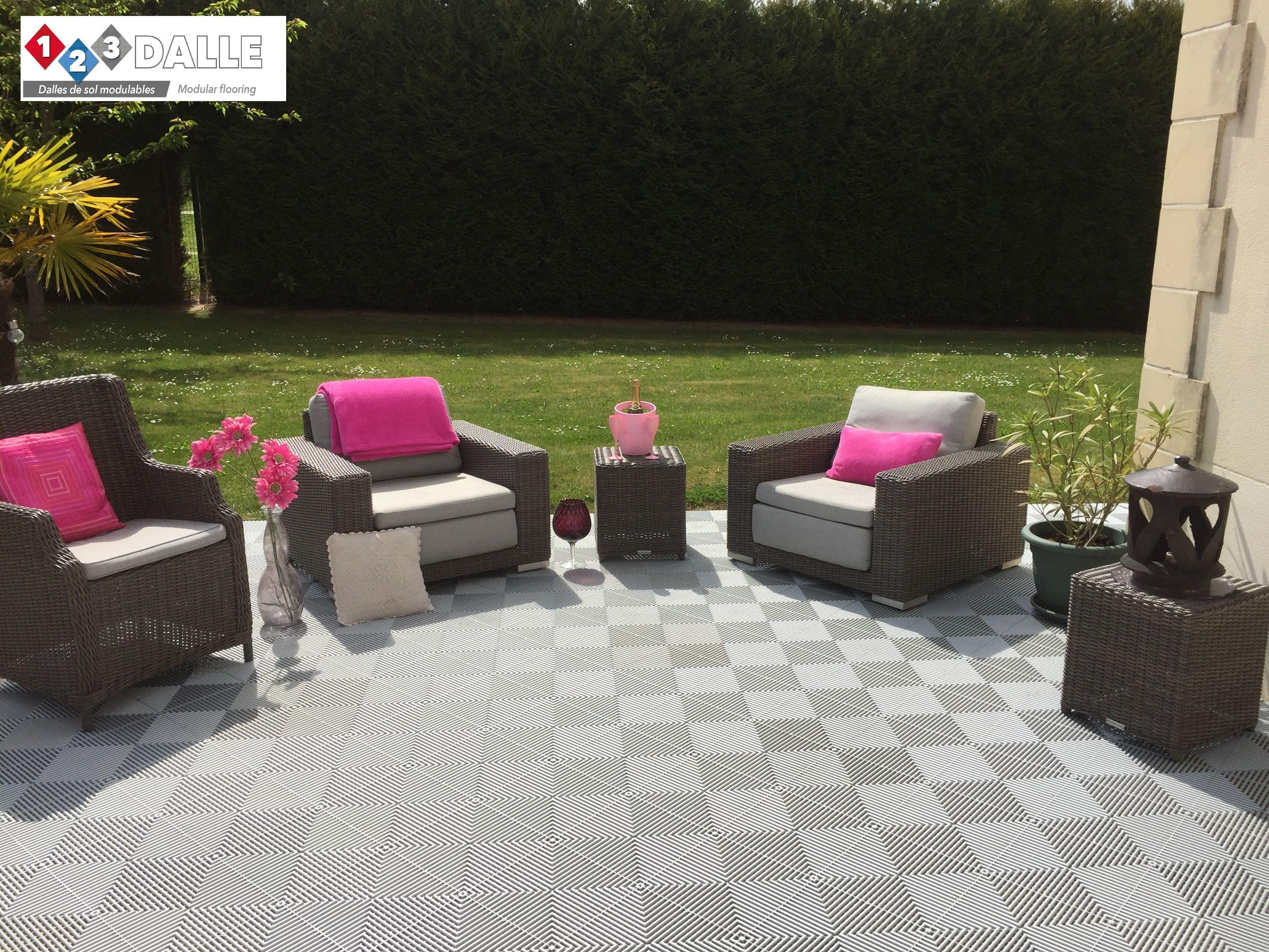 Produit Nettoyage Dalle Terrasse sol pour terrasse : des dalles clipsables pour votre