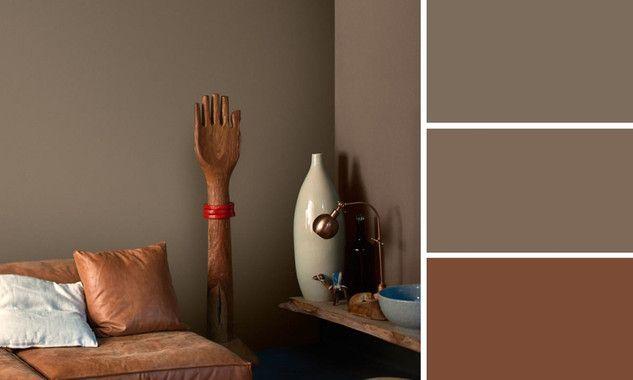 Quelles couleurs marier la couleur marron d co - Exemple couleur chambre ...