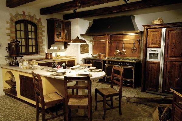 Imagini pentru bucatarii rustice zidite Decorațiuni casă Pinterest - landhauskchen mediterran