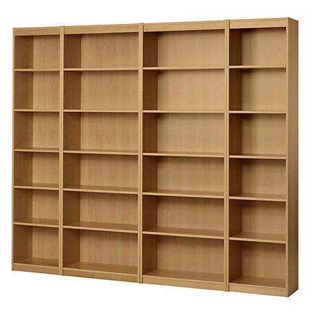 John Lewis Agatha Bookcase Combination Oak Online At
