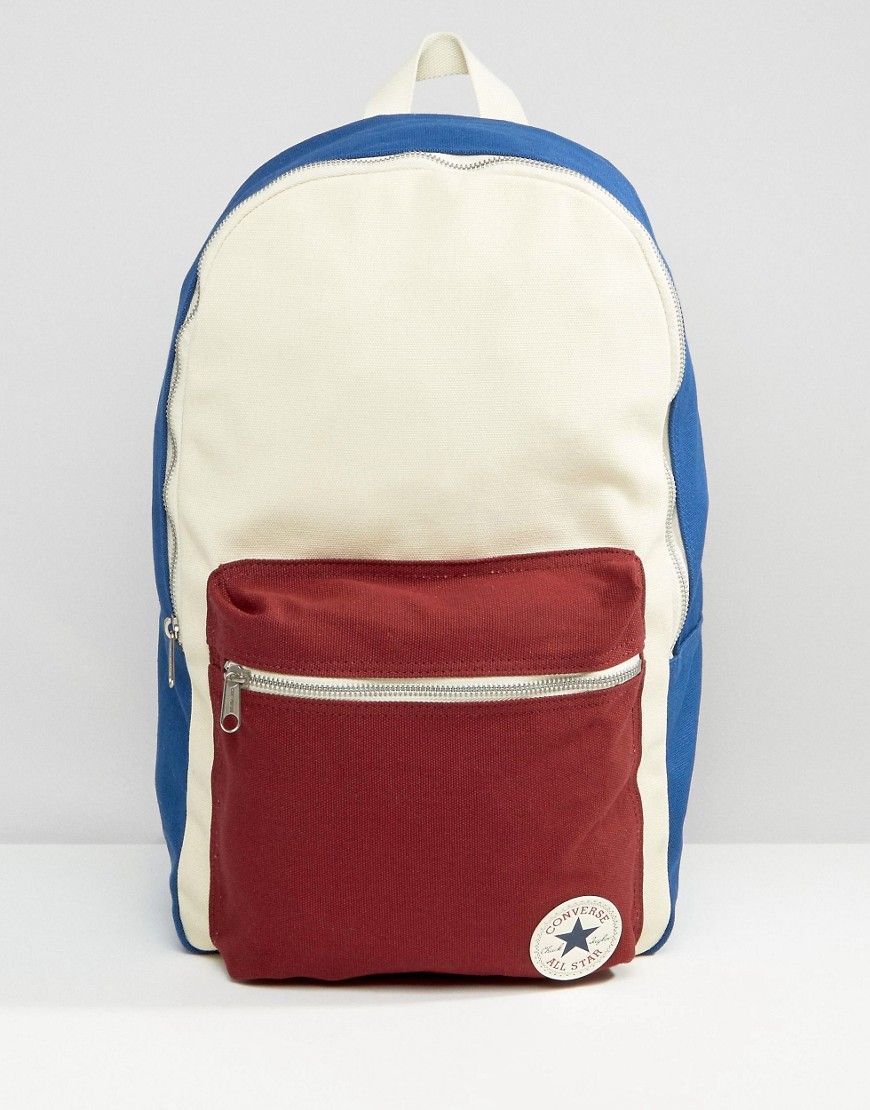 converse white bag