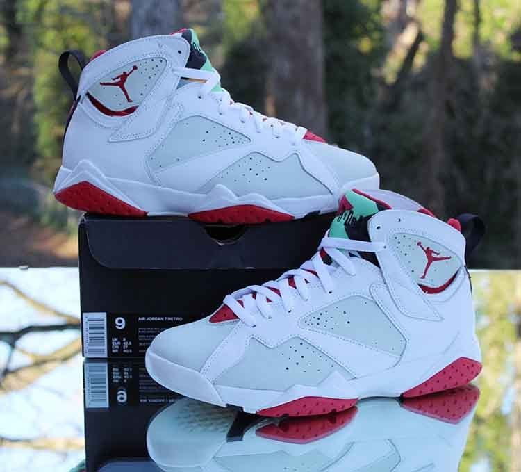 san francisco 325cf f55ea Nike Air Jordan 7 VII Retro Hare 304774-125 White Men s Size 9  Jordan   BasketballShoes