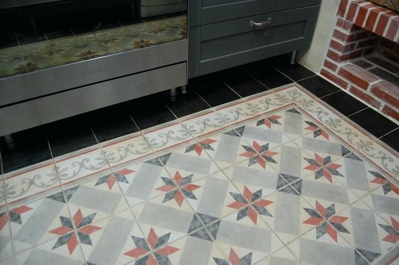 Carrelage Imitation Carreaux De Ciment Castorama Tiles Flooring Decor