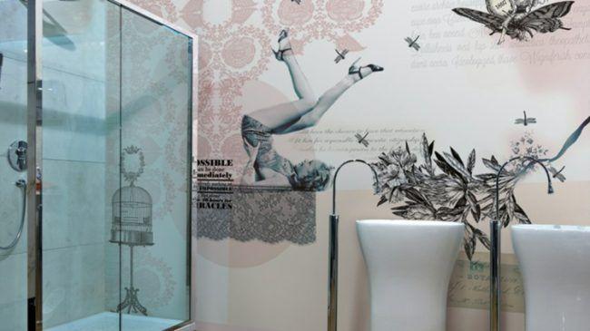 Badezimmer Vinyl ~ Badezimmer fliesen grau badezimmer modern beige grau ihausdekor