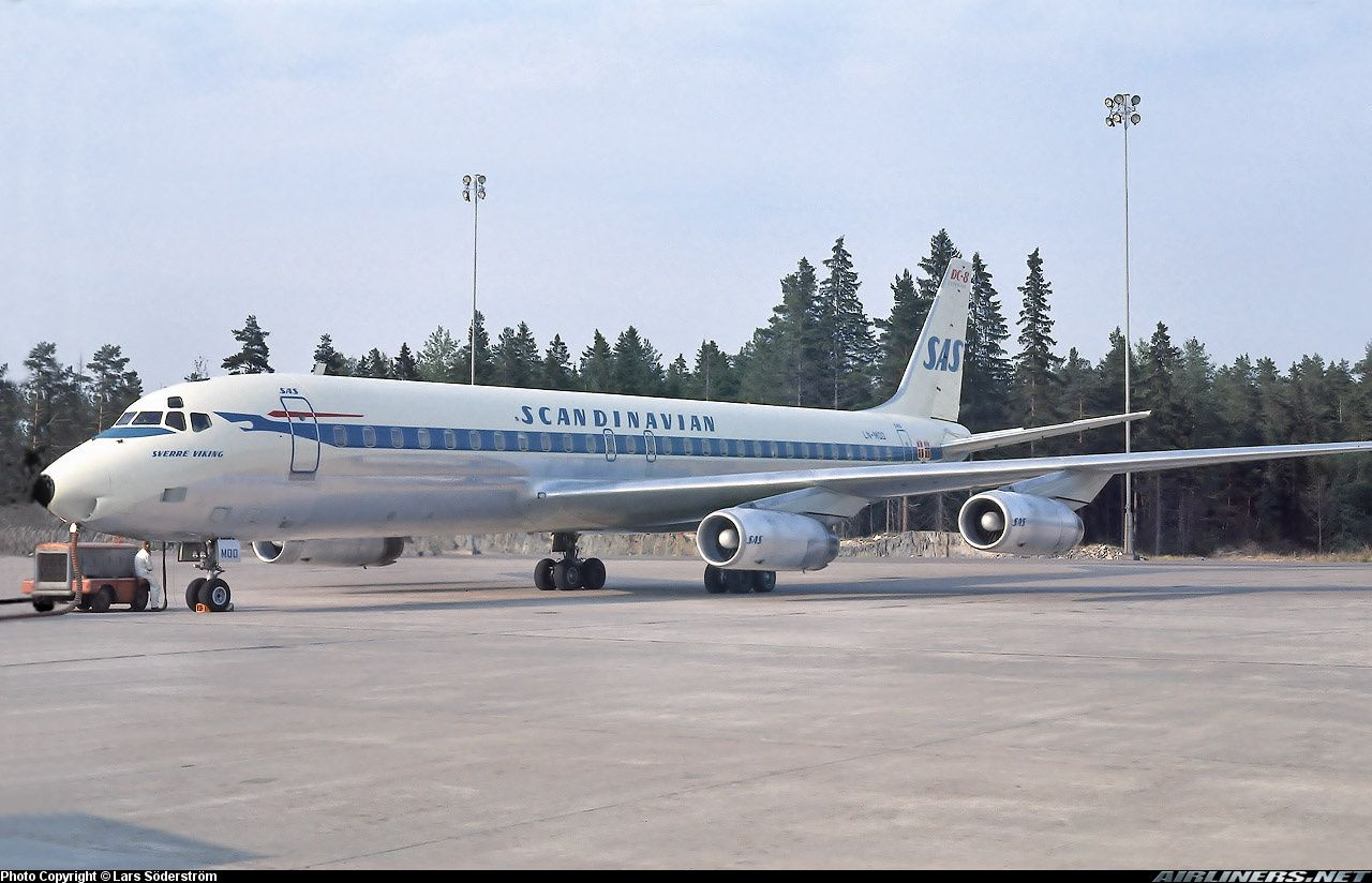 Sverre Viking This Aircraft Crashed In The Sea On Aproch To Lax On 13 Jan 1969 Photo Taken At Stockholm Arla In 2020 Scandinavian Airlines System Airlines Sas