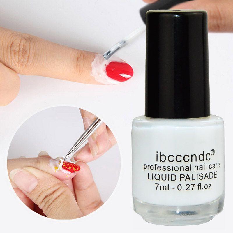 White Peel Off Liquid Nail Art | Liquid nails