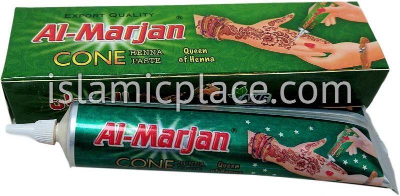 Al-Marjan Cone Henna Paste (Red Maroon)