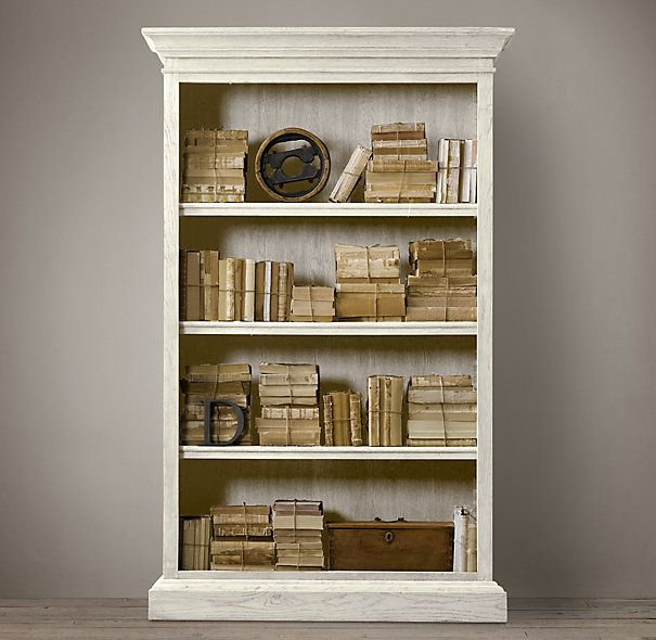17 Best Images About China Media Book Storage On Pinterest Outstanding Halifax Solid Mahogany Wood Bookcase In White Distressed Finish