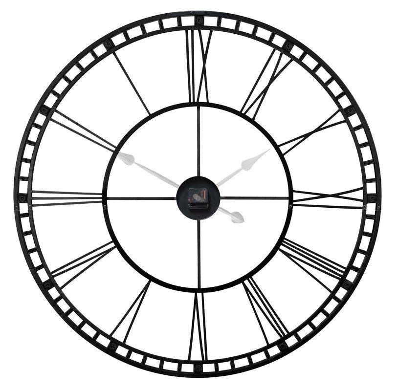 Oversized Methuen 39 Quot Wall Clock Clock Clock Decor